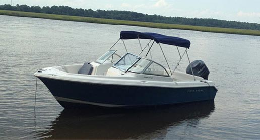 the Sea Hunt. Boat rentals in Charleston SC by SeaQuest