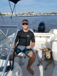 Captain Tanner available to charter your Charleston water adventure